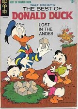 Walt Disney's The Best of Donald Duck Comic Book, Gold Key 1965 VERY GOOD+