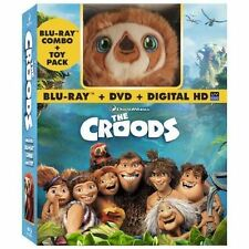 The Croods (Blu-ray/DVD, 2013, 2-Disc Set, Includes Digital Copy With Toy)
