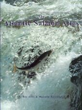 ARRIS ROY FISHING & CONSERVATION BOOK ATLANTIC SALMON ATLAS paperback bargain