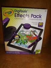 Crayola DigiTools Effects Pack New Purple Stamper Case Crayon Included