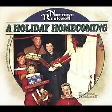NORMAN ROCKWELL A HOLIDAY HOMECOMING CD PERRY COMO, BING CROSBY & MORE
