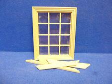 Dolls House Windows  DIY  12 LT WINDOW   cv123