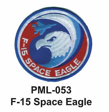 """F-15 SPACE EAGLE Embroidered Military Large Patch, 4"""""""