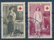 CO - TIMBRE DE FRANCE N°1089 et 1090 oblitérés