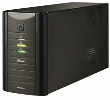 Trust Oxxtron 17680 Heavy Duty 1000VA Batterie Backup UPS + EXTENDED 3YR Garantie