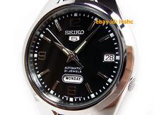 SEIKO 5 SNK623 SNK623K1 21 Jewels Black Automatic 30m WR !