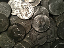 4 Ounce Quarter Halves U.S. Junk Silver Bullion Coins All 90% Silver Pre 1965 !