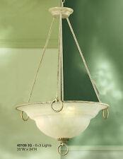 40105 IG-Pendant, Cream/Ivory, Made In Italy,