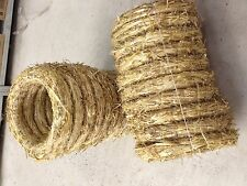 straw wreath rings 30 cm (12 inch) 10 in a bundle to make your own wreaths