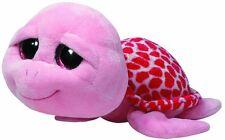 Glubschi TY *Shellby Buddy *Schildkröte mit Glitzeraugen pink (22cm) NEU