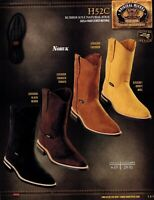 Original Michel King Exotic Men/'s H50 Grisly Leather Cowboy Western Work Boots