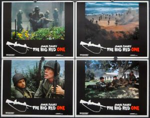 THE BIG RED ONE 1980 ORIGINAL 11X14 MINT LOBBY CARD SET LEE MARVIN MARK HAMILL
