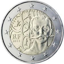 2 Euros Francia 2013. Pierre de Coubertin. SC.