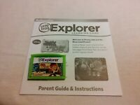 Leapfrog Explorer Jake and the Neverland Pirates Game Leap Pad 2,3,GS,XDi Ultra
