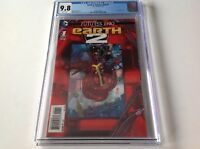 EARTH 2 FUTURES END 1 CGC 9.8 WHITE PGS AWESOME 3D LENTICULAR COVER A DC COMICS