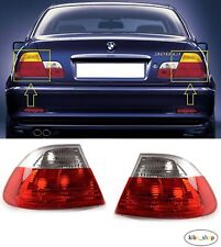 BMW 3 E46 (COUPE) 1999 - 2003 NEW REAR TAIL LIGHT LAMPS OUTTER PART LEFT + RIGHT