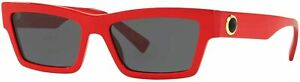 Versace Sunglasses VE4362 506587 55mm Red-Gold / Grey Lens [55-17-140]