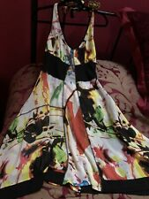 mais il est ou le Soleil Halter Neck Dress Size 12 (europe 40) BNWT