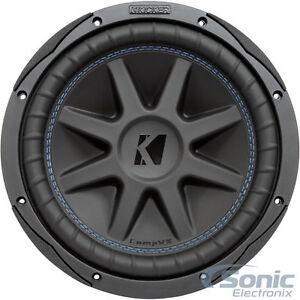 "KICKER CompVX 44CVX102 1200W 10"" Comp VX Dual 2-Ohm Car Subwoofer"