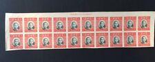 China Sunt Yat Sen stamp 20x1