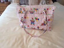 Vtg 1980's Clown Baby Diaper Bag