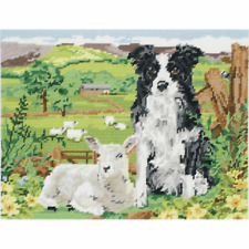 Anchor Tapestry Kit - Border Collie and Lamb MR7004