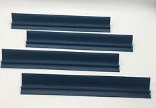 1997 UPWORDS Game Replacement Pieces Parts 4 BLUE PLASTIC LETTER TILE RACKS