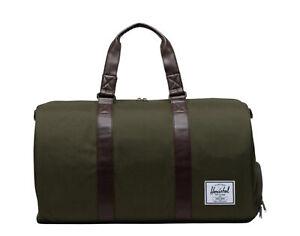 Herschel Supply Co. Novel Ivy Green/Chicory Coffee Duffle Bag 10026-04488
