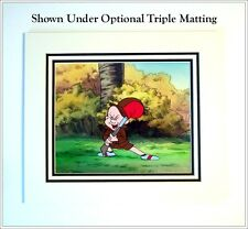Warner Bros. Elmer Fudd Hand-Painted Production Animation Cel w/COA