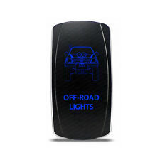 Rocker Switch Toyota Hilux Off-Road Lights Symbol - Blue LED