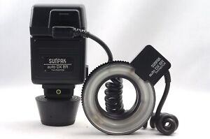 @ Ship in 24 Hours! @ Sunpak auto DX 8R Thyristor Ring Light Macro Flash Set