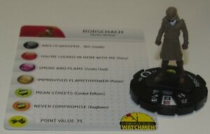 Rorschach FF001 Watchmen Crimebusters Fast Forces Heroclix