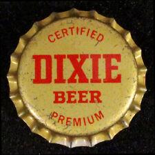 DIXIE CERTIFIED PREMIUM CORK LiNED BEER BOTTLE CAP NEW ORLEANS, LOUISIANA CROWNS