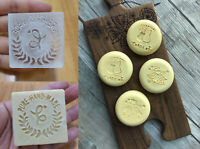 Custom Acrylic Soap LOGO Stamp Personalized seal Embosser Handmade candle cookie
