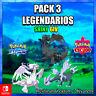 PACK 3 LEGENDARIOS FUSION Pokemon Espada/Escudo 🚀ENTREGA EN 10 MINUTOS 🚀