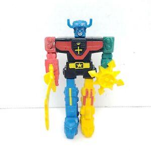 """Voltron Lion Force Assembler Action Figure 1984 LJN Toys 5"""" - Rubber Macao"""