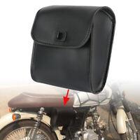 Motorrad Bike Side Werkzeugtasche Schwarz Gepäcksatteltaschen Schnellverschluss