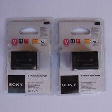 2x NP-FV70 For Sony CX180 XR160 CX700 PJ10 PJ30 PJ50 CX550E XR150E SR68E CX350E
