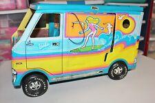 Vintage Barbie Doll Surfer Beach Bus 1971 Mattel #7805