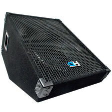 800W Passive Wedge Monitor Stage PA Speaker for Band DJ Karaoke Church Event