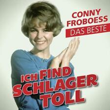 CONNY FROBOESS - ICH FIND SCHLAGER TOLL-DAS BESTE   CD NEUF