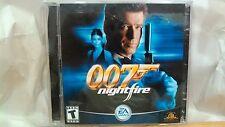 007 Nightfire EA Games PC-CD Double James Bond 2002 Electronic Arts       cd2270