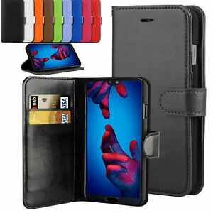 Case For Huawei P Smart 2019 2020 Luxury Leather Flip Wallet Stand Cover New
