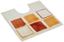 WC-Vorleger Mosaik orange 60x60cm mit Ausschnitt von Sanwood