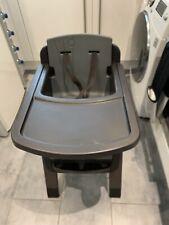 Nuna Zaaz Adjustable High Chair Black / Grey