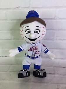 MLB New York Mets Baseball Mrs. Met Plush Doll Toy Mascot Twins Enterprise Inc