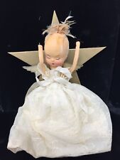 Vintage Angel Christmas Tree Topper Hair Issues