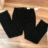 *NEW* NYDJ Ladies' Barbara Bootcut Jeans Lift X Tuck Black Size 10XL