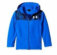 UNDER ARMOUR UA TODDLER BOYS DIGITAL CITY COZY FULL ZIP HOODIE SIZE 2T BLUE NWT