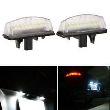 2x 18 LED License Plate Number Lights Car Lamp For Lexus Toyota Camry Avensis